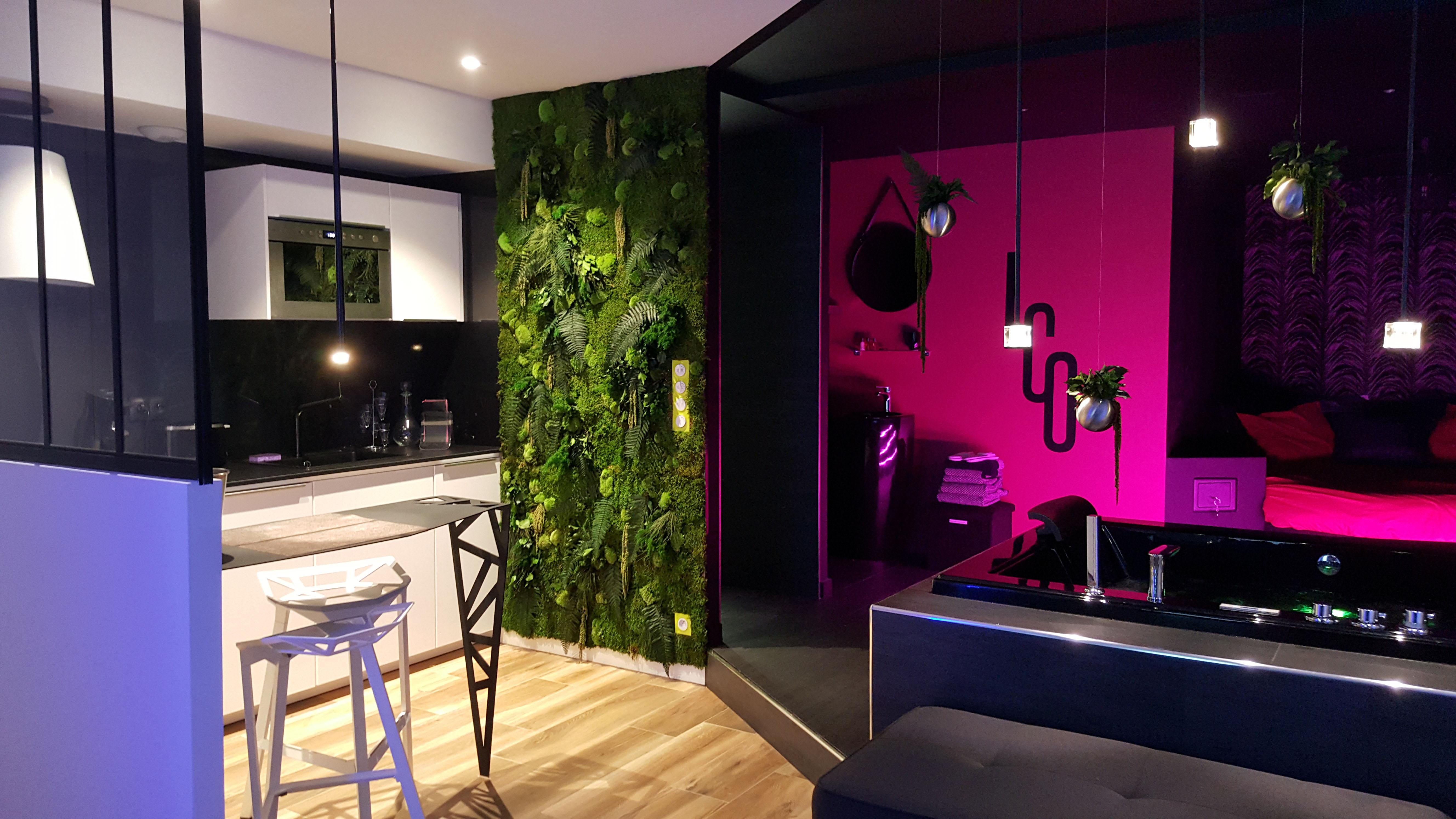 Le Clair Obscur, appartement romantique de luxe, Nantes, Pays de la Loire